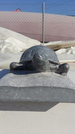 Julien Joselon Sculpture animalière cistude d'Europe