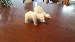 Julien Joselon Sculpture animalière ours polaire