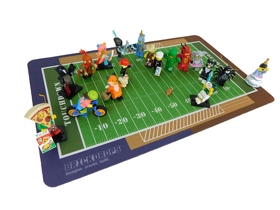 Brickdrops Football Play Mat