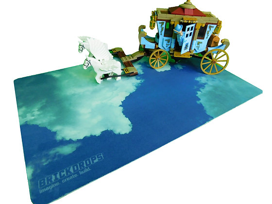 Brickdrops Clouds Play Mat