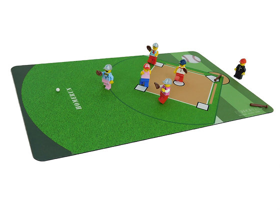 Brickdrops Baseball Play Mat