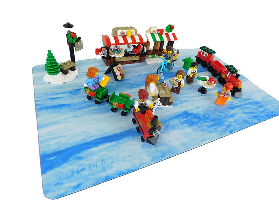 Brickdrops Arctic Play Mat