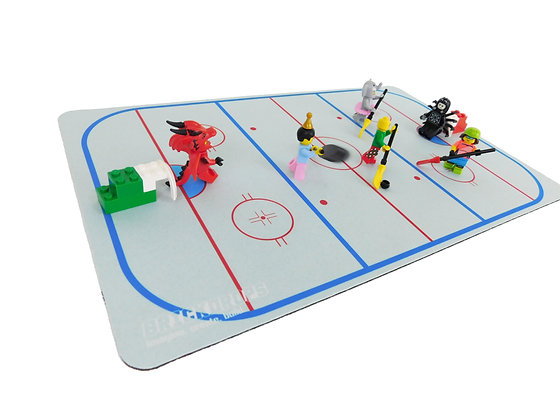 Brickdrops Hockey Play Mat
