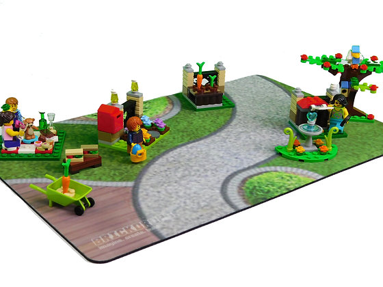 Brickdrops City Park Play Mat