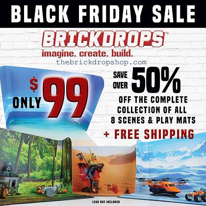 Brickdrops Backdrop Bundle Complete 8 Scene Collection