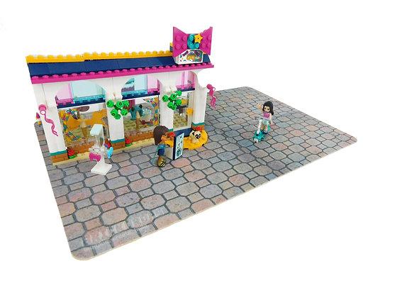 Brickdrops Cobblestone Street Play Mat