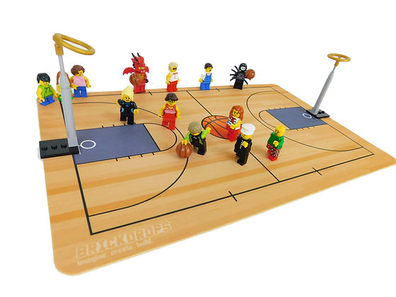 Brickdrops Basketball Play Mat