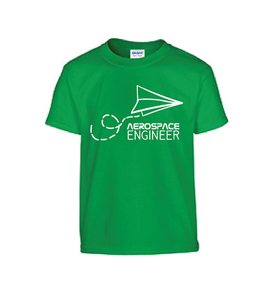 Aerospace Engineer Green T-Shirt
