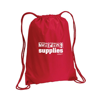 Building Supplies Drawstring Bag