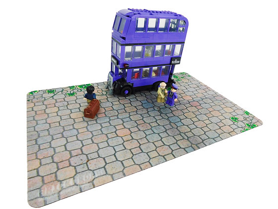 Brickdrops Enchanted Cobblestone Play Mat