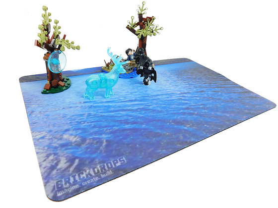 Brickdrops Magic Lake Play Mat
