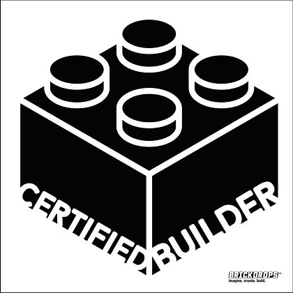 Certified Builder Bumper Sticker