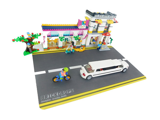 Brickdrops City-Streets Play Mat
