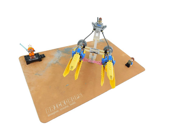Brickdrops Red Planet Play Mat
