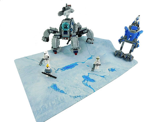Brickdrops Frozen Planet Play Mat