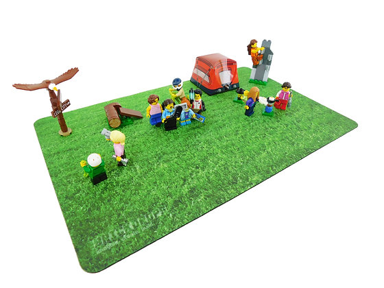 Brickdrops True Turf Play Mat