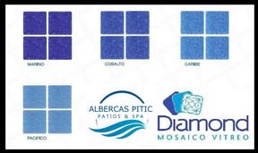 mosaico diamond vitreo