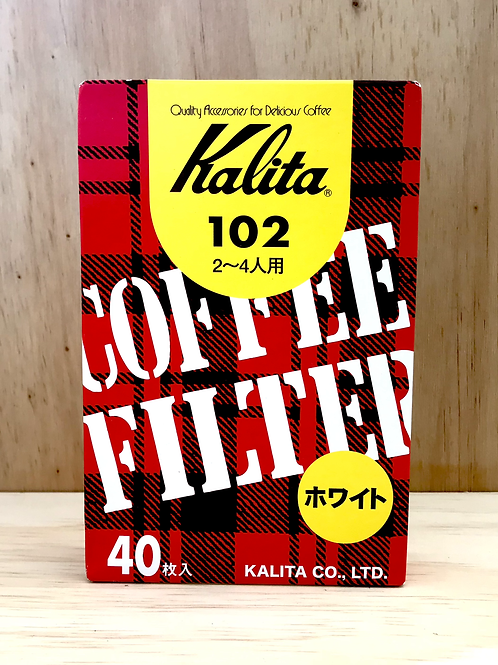 Kalita 102 (40P) Paper filter