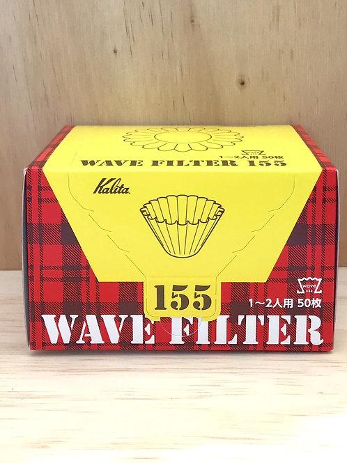 Kalita 155  Wave series Coffee Filter (50P)