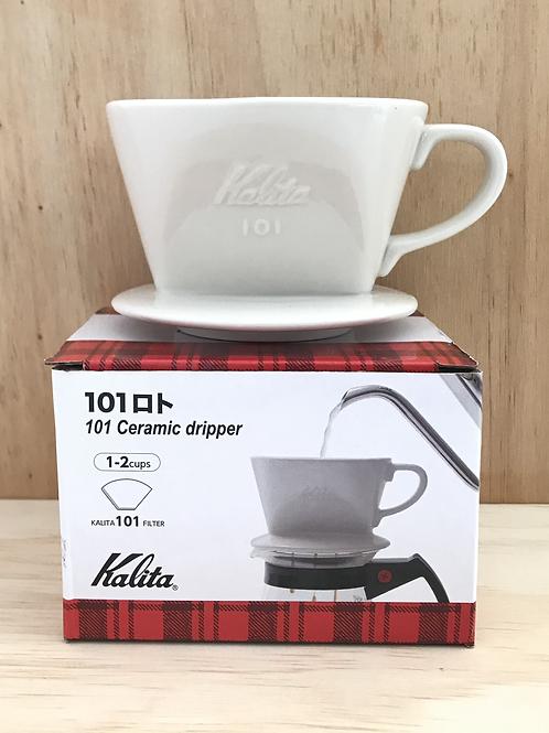 Kalita 101 Coffee Dripper (White)