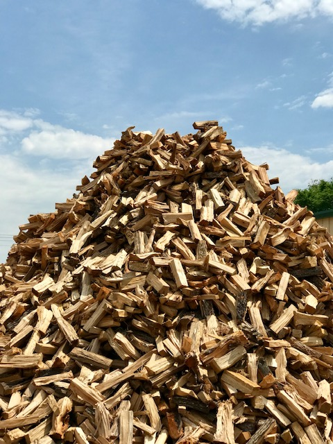 bulk firewood delivery