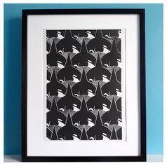 Orca Pattern by Christopher Hill