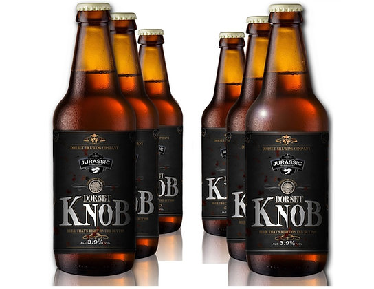 Dorset Knob Real Ale Bottles - 6 x 500ml