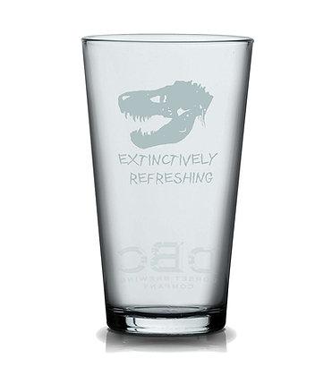 DBC JURASSIC  PINT  GLASS