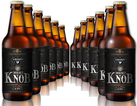 Dorset Knob Real Ale Bottles - 12 x 500ml
