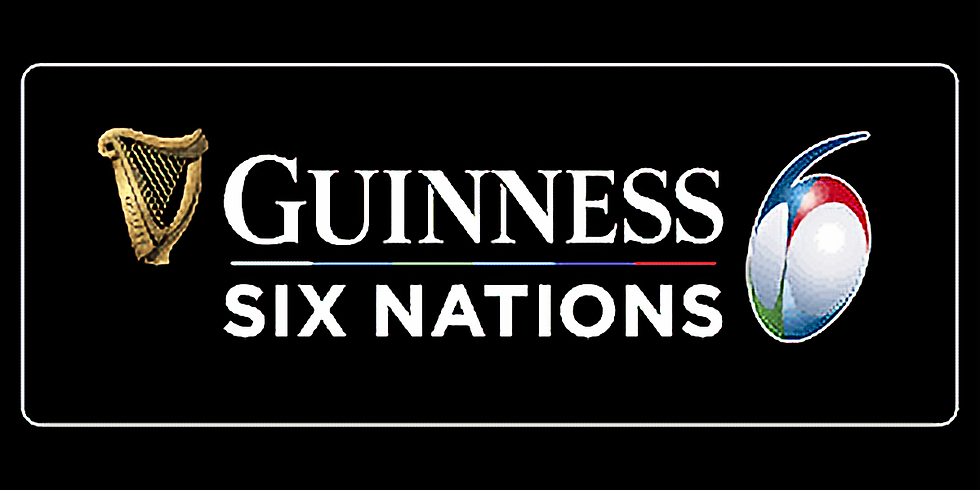 6 NATIONS in the Jurassic Tap Room Sports Bar