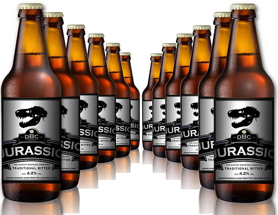 Jurassic Real Ale, 4.2% - 12 x 500ml
