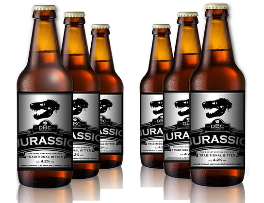 Jurassic Real Ale, 4.2% - 6 x 500ml