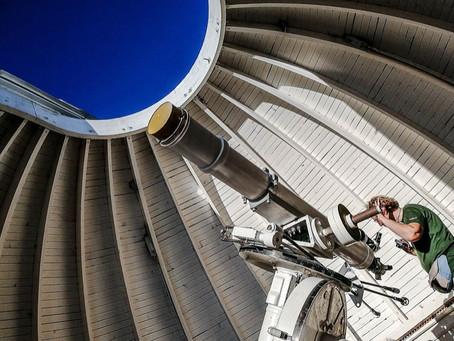 Вечернее небо в телескоп