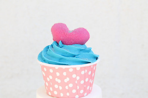 Bubble Bar, Bath Bomb Cupcake, Coconut Berry, Birthday Favors, Party Favors