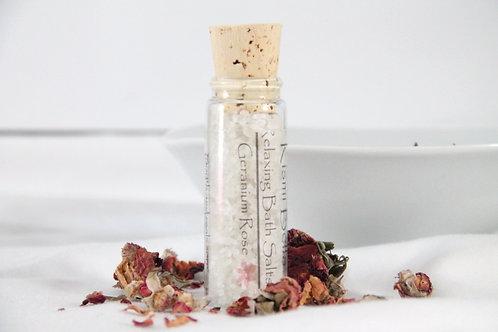 Geranium Rose Bath Salt Sample Size