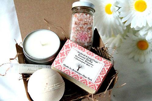 Kismi Bella Gift Set, Bath Salts Gift Set, Valentine's Day Gift Set, Weddings, B