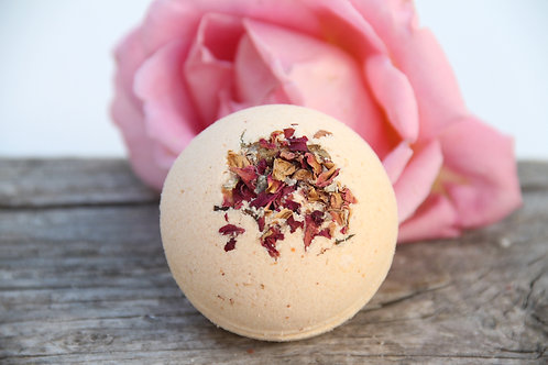 Bath Bombs, Bath Fizzies, Spa Gift Set, Coconut Rose, Gift Sets, Gifts For Her