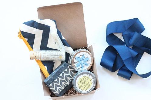 Bath and Beauty Bag Gift Set Dry Skin Bath Salts