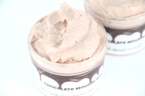 Body Butter, Chocolate Mousse Whipped Body Butter