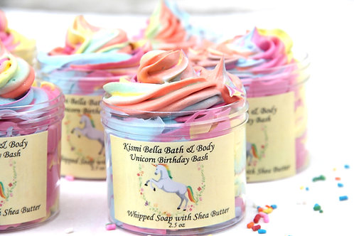 Unicorn, Whipped Soap, Whipped Body Butter, Shea Butter, Unicorn Birthday Bash,