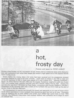 A hot frosty day