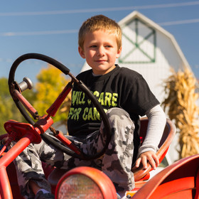 Try out our tractors for size!