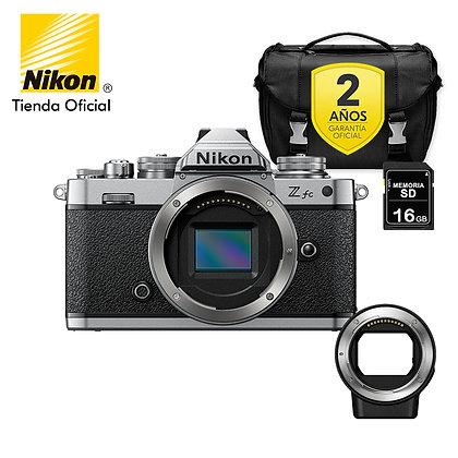Nikon Z fc + Sólo Cuerpo + FTZ