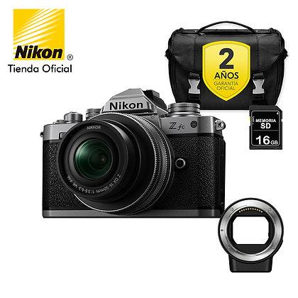 Nikon Z fc + 16-50mm + FTZ