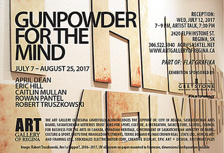 Exhibition: Gunpowder for the Mind