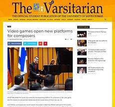 The varsitarian - University of Santo To