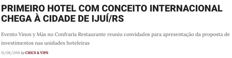 REPORTAGEM DE CHICS & VIPS