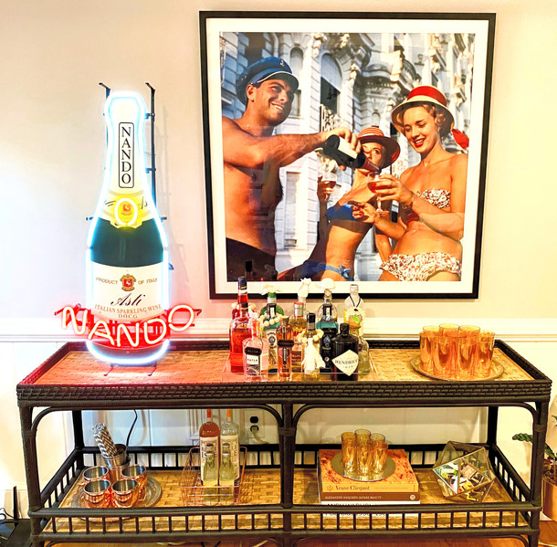every home needs a well styled bar