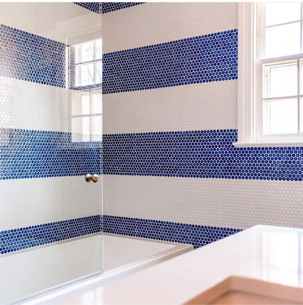 Striped Tile Design