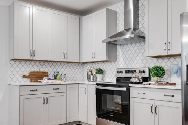 Grey Cabinet Design